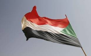 Le drapeau du Soudan (illustration).