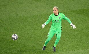 Keylor Navas lors de PSG-Manchester City le 28 avril 2021.