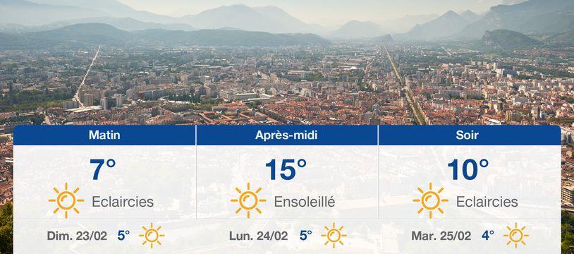 Météo Grenoble: Prévisions du samedi 22 février 2020
