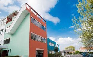 A Pessac, le 15 septembre 2014, la Cité Frugès dessinée par le Corbusier.
