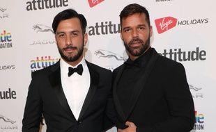 Les heureux parents Jwan Yosef et Ricky Martin