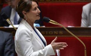 La ministre de l'Ecologie, Ségolène Royal à l'Assemblée nationale à Paris, le 24 juin 2015