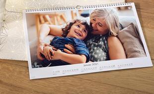 Un calendrier de photos Cewe
