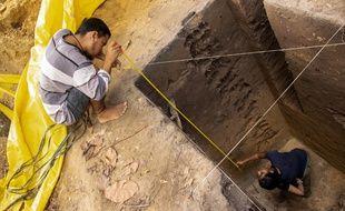 Des archéologues ont mené des recherches dans un un secteur de l'Amazonie près d'un ancien lac.