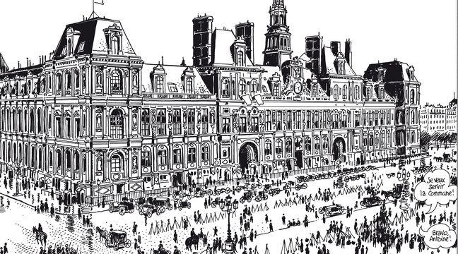 Quand Tardi dessine Paris, il se fait «un plaisir de virer les Mcdo et les banques»