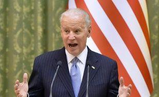 Le vice-président américain Joe Biden à Kiev le 7 décembre 2015