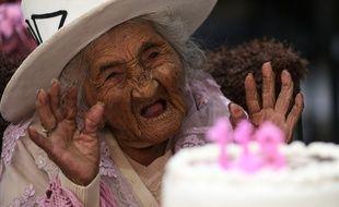 La doyenne de la Bolivie, Mama Julia, est âgée de 118 ans.