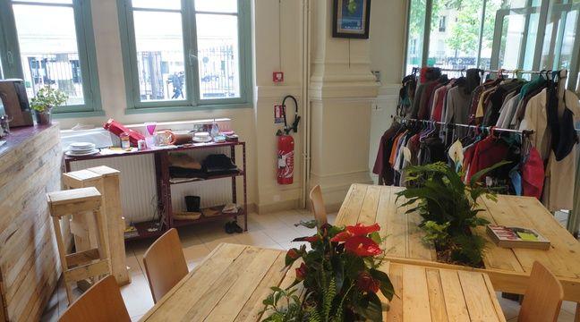 Les locaux de la Boutique sans argent (SigaSiga) dans le 12eme arrondissement.  – La Boutique sans Argent