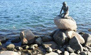 La statue de La Petite Sirène à Copenhague