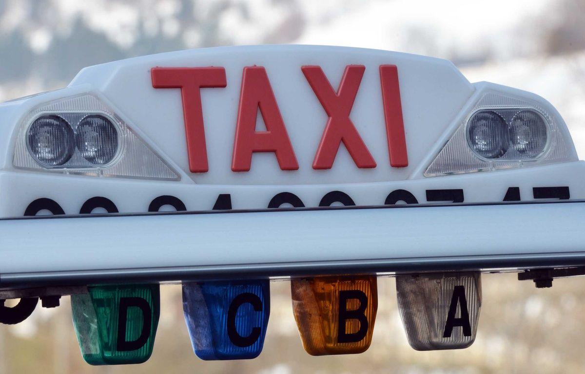 Illustration d'un taxi. – ALLILI MOURAD/SIPA