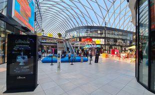 Le centre commercial Lillénium, à Lille.