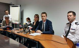 Le point sur l'enquête du déraillement du TGV à Eckwersheim avec les procureurs adjoints de Strasbourg et Paris