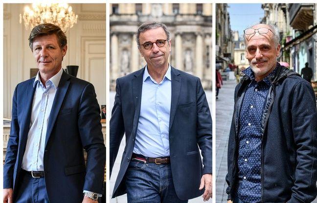 Municipales 2020 à Bordeaux: Le maire sortant Nicolas Florian, allié à LREM, se détache devant Pierre Hurmic dans un sondage