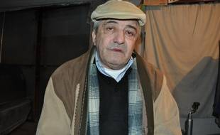 Constantin Reliu, 63 ans, pris en photo en mars 2018.