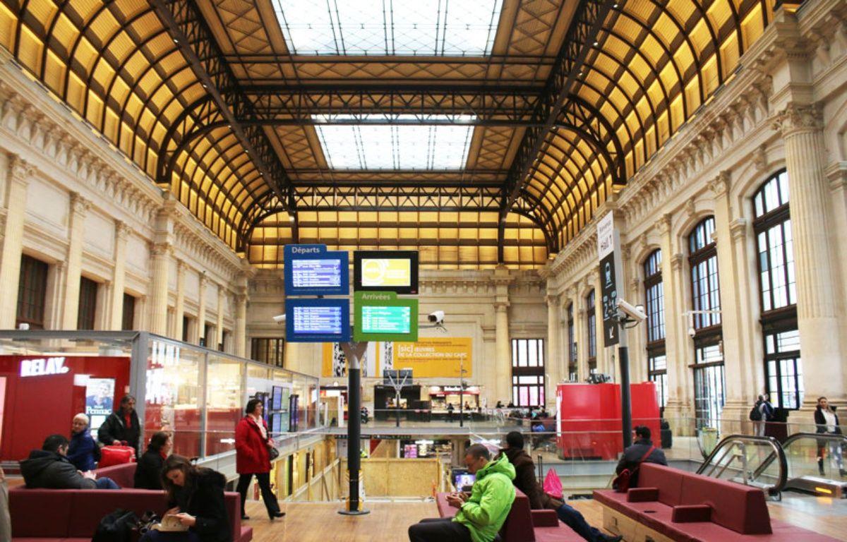 Le 10 janvier 2017: Le hall 1 de la gare Saint-Jean à Bordeaux a été entièrement réaménagé – M.Bosredon/20Minutes