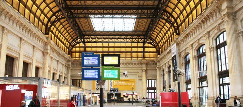 Le 10 janvier 2017: Le hall 1 de la gare Saint-Jean à Bordeaux a été entièrement réaménagé