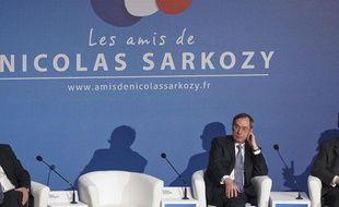 Claude Guéant lors d'un meeting des Amis de Nicolas Sarkozy à Paris, le 20 février 2013.