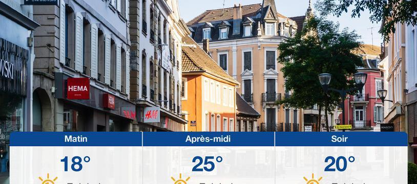 Météo Mulhouse: Prévisions du samedi 25 septembre 2021