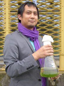 Vinh Ly, le président de la start-up Kyanos, qui travaille sur les micro-algues.