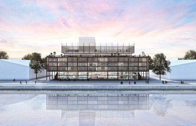 Image de synthèse du projet de Radison Blu Hôtel aux Bassins à Flot à Bordeaux