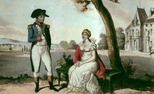 Napoléon et sa première femme, Joséphine