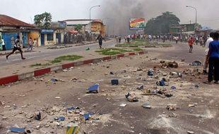 Crise à Kinshasa, en RDC, le 19 janvier 2015.