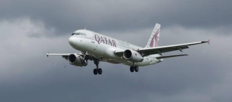 Un appareil Qatar Airways