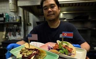 Les cartes des restaurants et bars de Singapour rivalisent d'inventivité à quelques jours du sommet historique entre les dirigeants nord-coréen et américain.