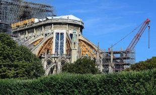 incendie Notre-Dame de Paris (Archives)