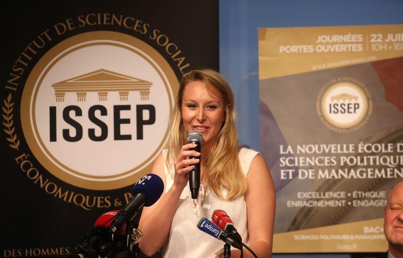 Marion Maréchal ne veut pas retourner «dans le giron» d'un parti politique