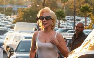 Lady Gaga le 24 octobre 2017 à Los Angeles.