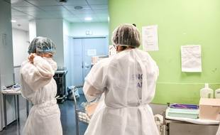Illustration d'un établissement de santé confronté à l'épidémie de coronavirus.