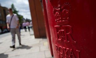Une boîte postale de la Royal Mail, à Londres, le 10 juillet 2013. (Illustration)