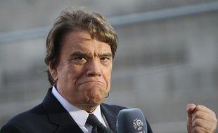 Bernard Tapie, le 26 mai 2013 au stade Velodrome de Marseille.