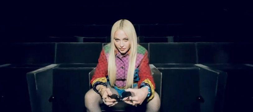La chanteuse Madonna