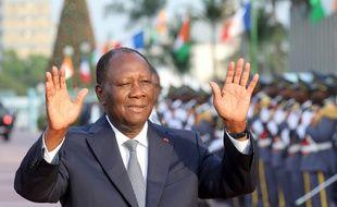 Alassane Ouattara à Abidjan, le 21 décembre 2019.