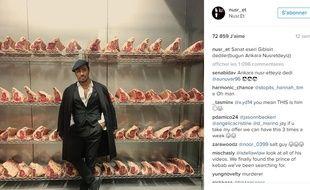 Nusret Gökçe, le boucher turc star d'Instagram.