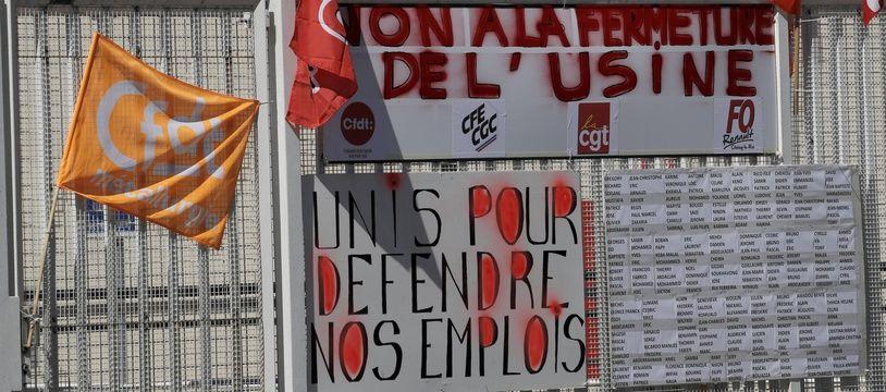 Le 29 mai devant l'usine Renault de Choisy-le-Roi.