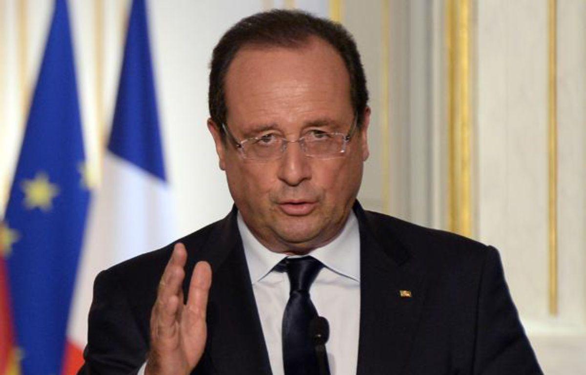 François Hollande à Paris le 3 septembre 2013. – BERTRAND GUAY / AFP