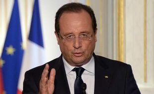 François Hollande à Paris le 3 septembre 2013.