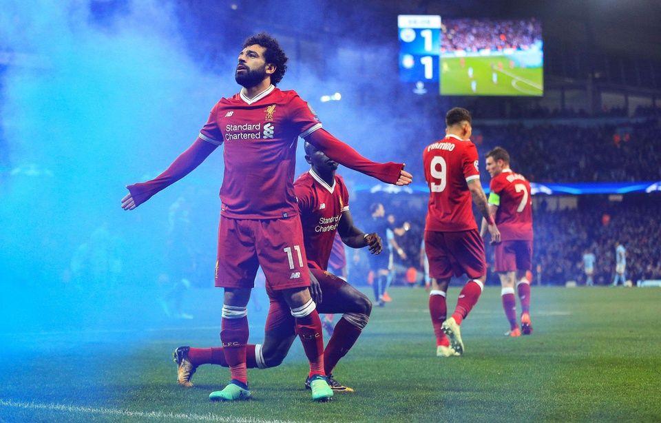 Le but incroyable pleine lucarne de Salah