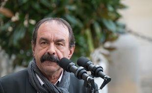 Philippe Martinez, le 18 décembre 2019 à Matignon.
