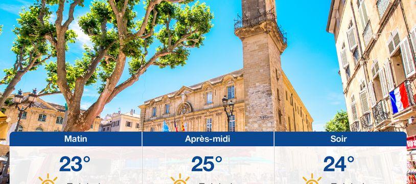 Météo Aix-en-Provence: Prévisions du jeudi 24 juin 2021