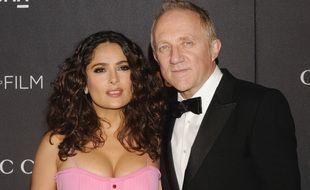 L'actrice Salma Hayek et l'homme d'affaires Francois-Henri Pinault