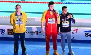Horton refuse de partager le podium avec Sun Yang