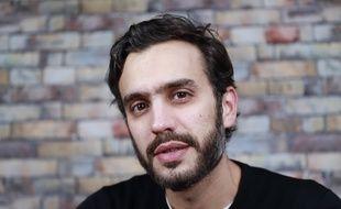 L'humoriste Laurent Sciamma dans les locaux de 20 Minutes, le 19 novembre 2019.