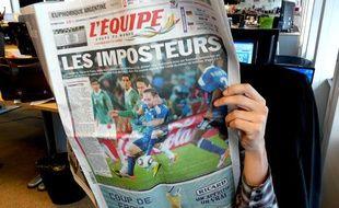 La presse tire à boulets rouges sur les Bleus après leur défaite contre 0-2 contre le Mexique en Coupe du monde.