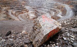 La mine d'or de Salsigne, fermée en 2004, dont les déchets polluants font encore polémique.