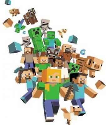 La puissance cube de minecraft - Jeu de cube comme minecraft ...