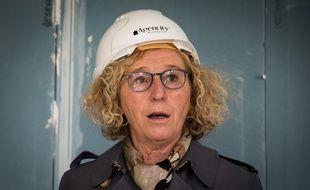 Muriel Pénicaud, le12 mai 2020 à Montévrain.